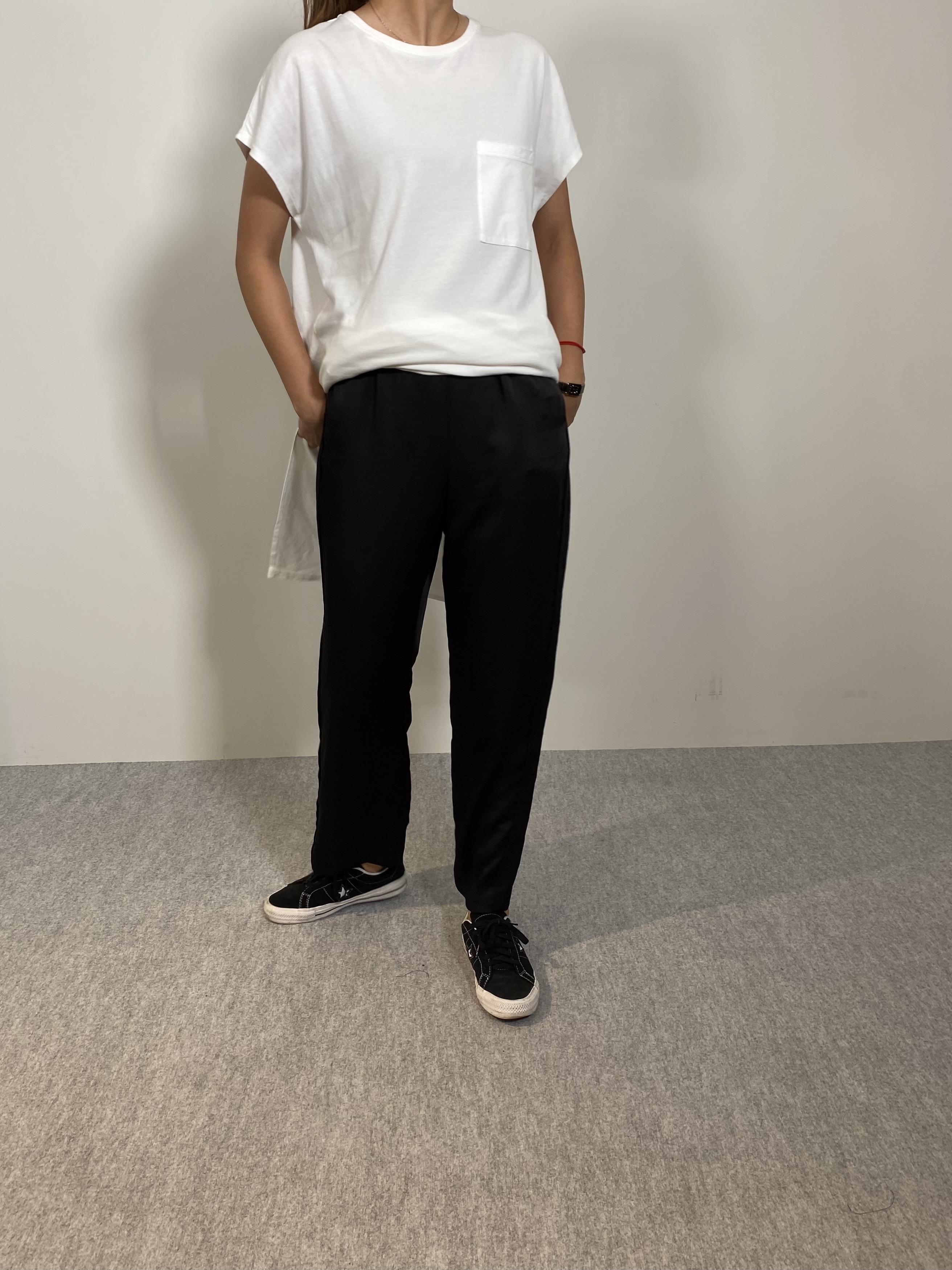 Women's COMFORT DRESS TUNIC T-SHIRTの着用画像9