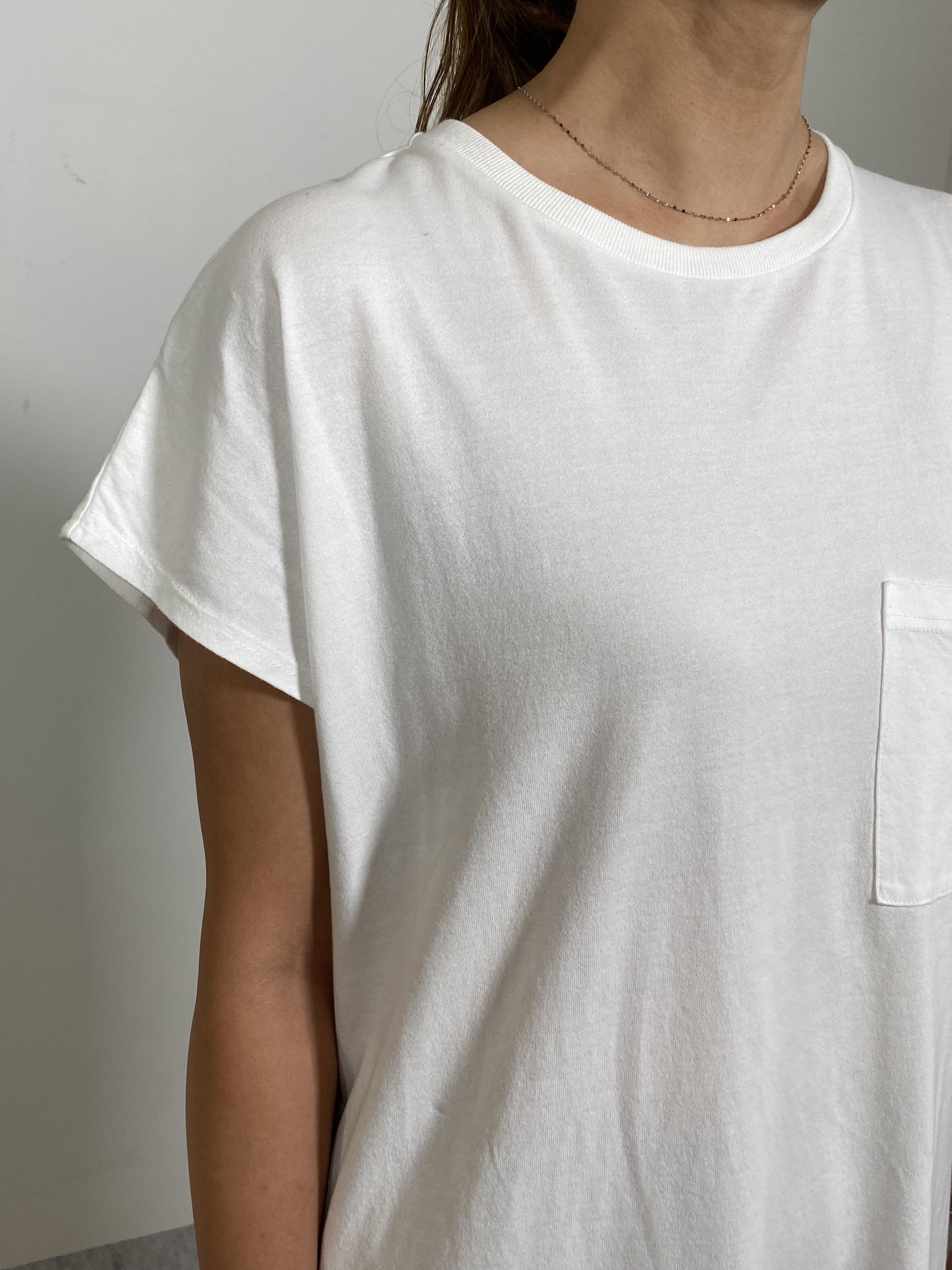 Women's COMFORT DRESS TUNIC T-SHIRTの着用画像12