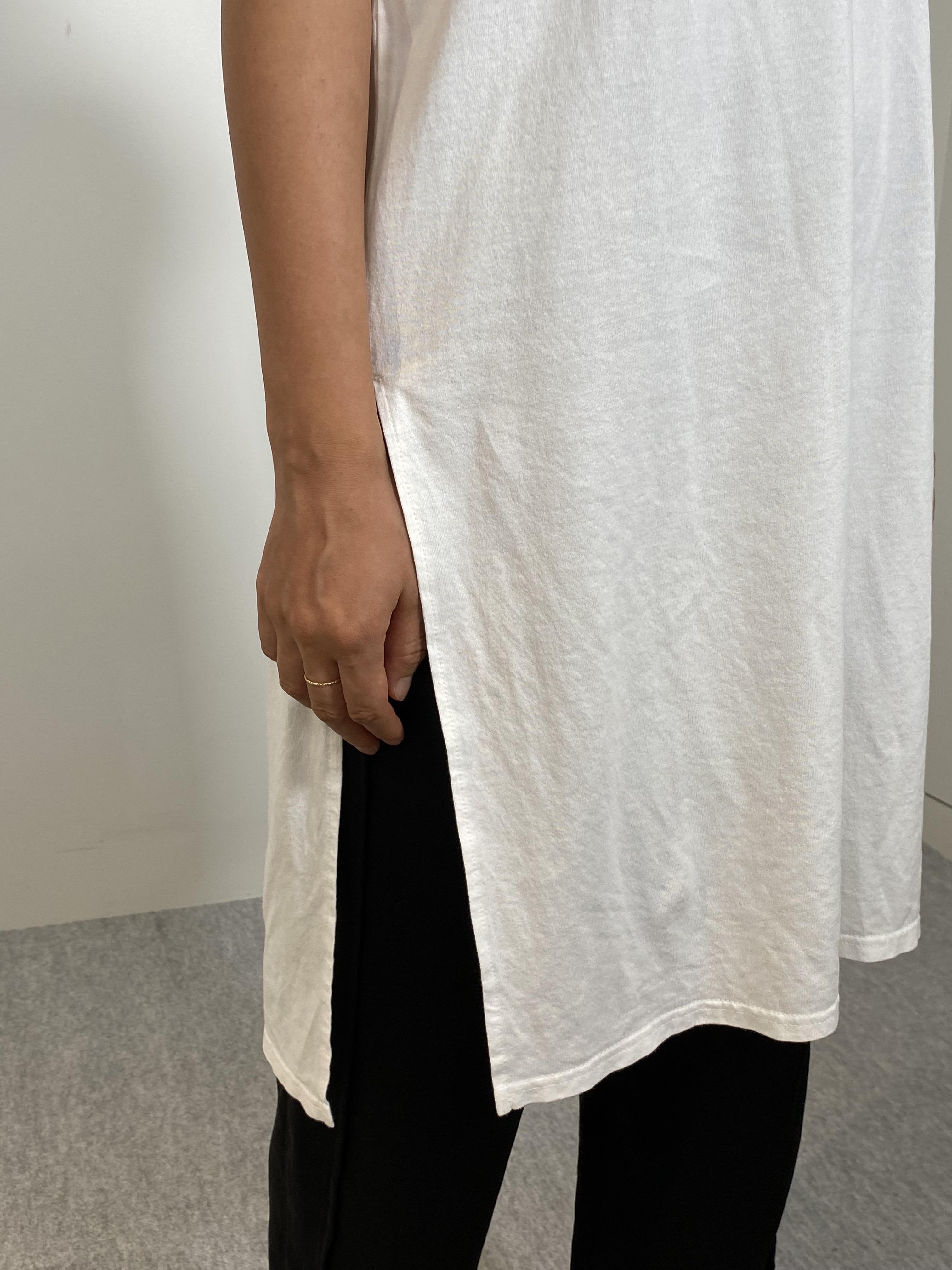 Women's COMFORT DRESS TUNIC T-SHIRTの着用画像13