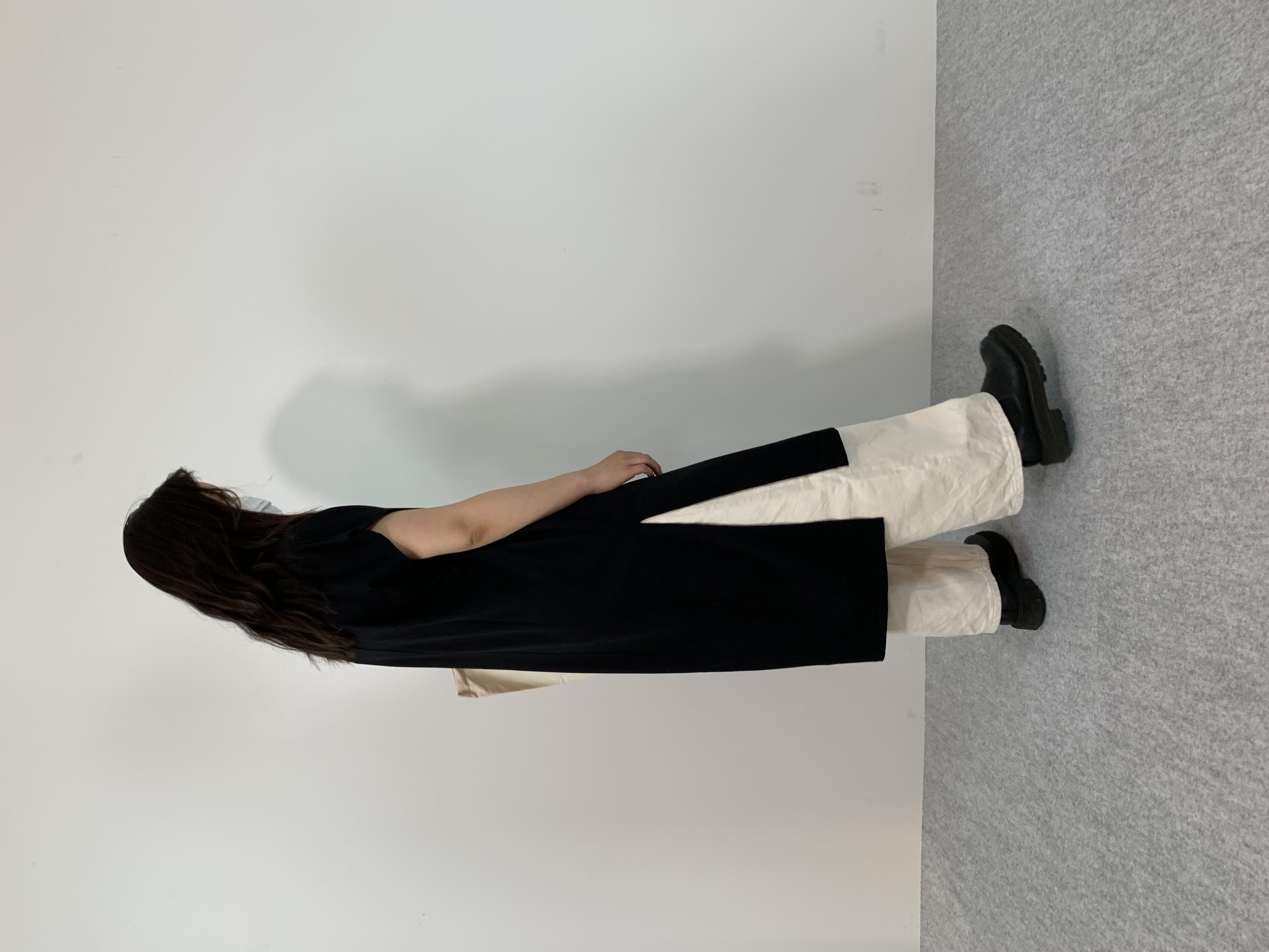 Women's COMFORT DRESS TUNIC T-SHIRTの着用画像6