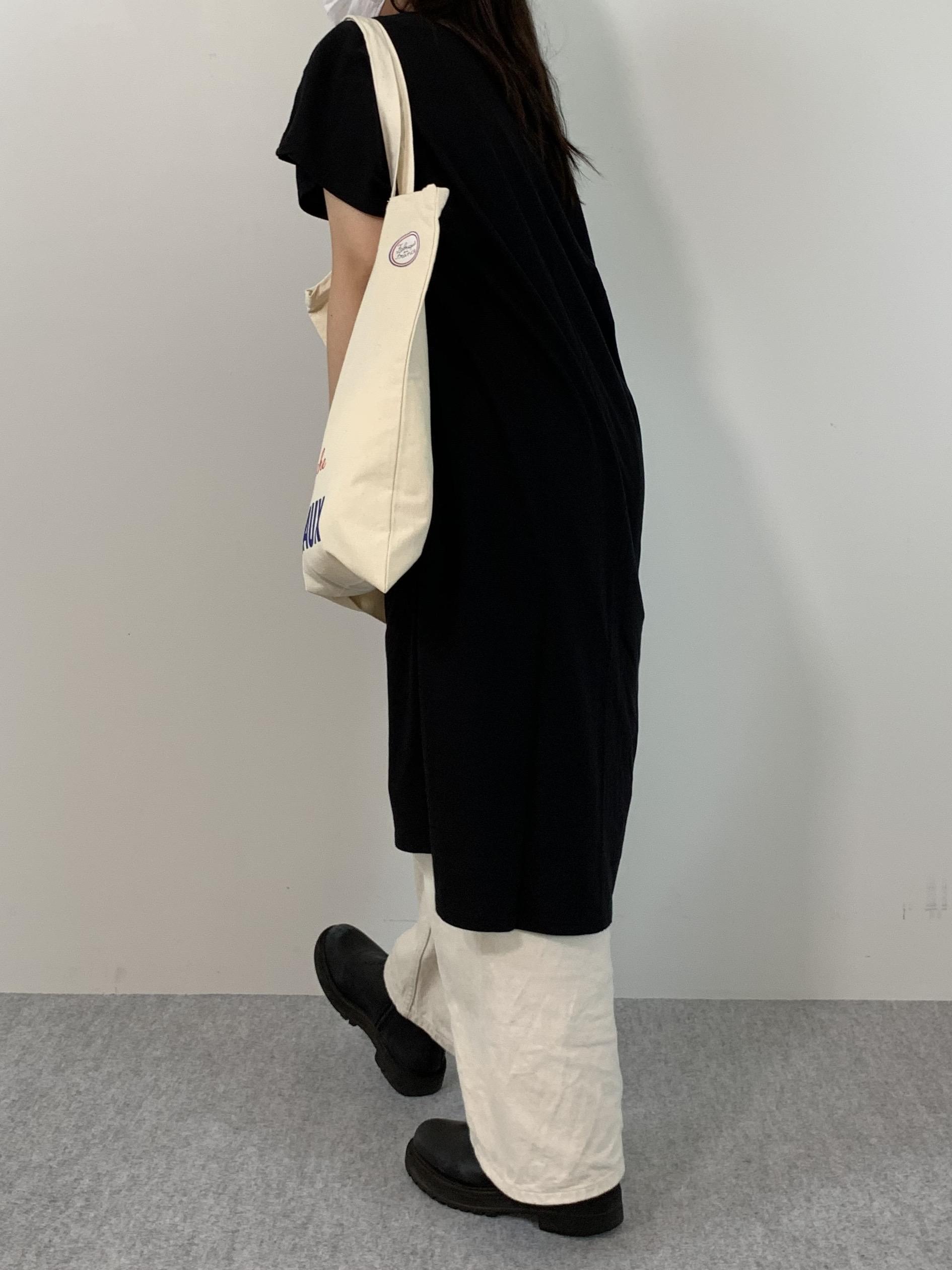 Women's COMFORT DRESS TUNIC T-SHIRTの着用画像7