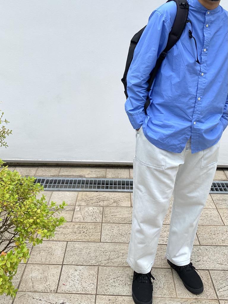 Mens 10.5oz DENIM CLIMB BAKER PANTSの着用画像0