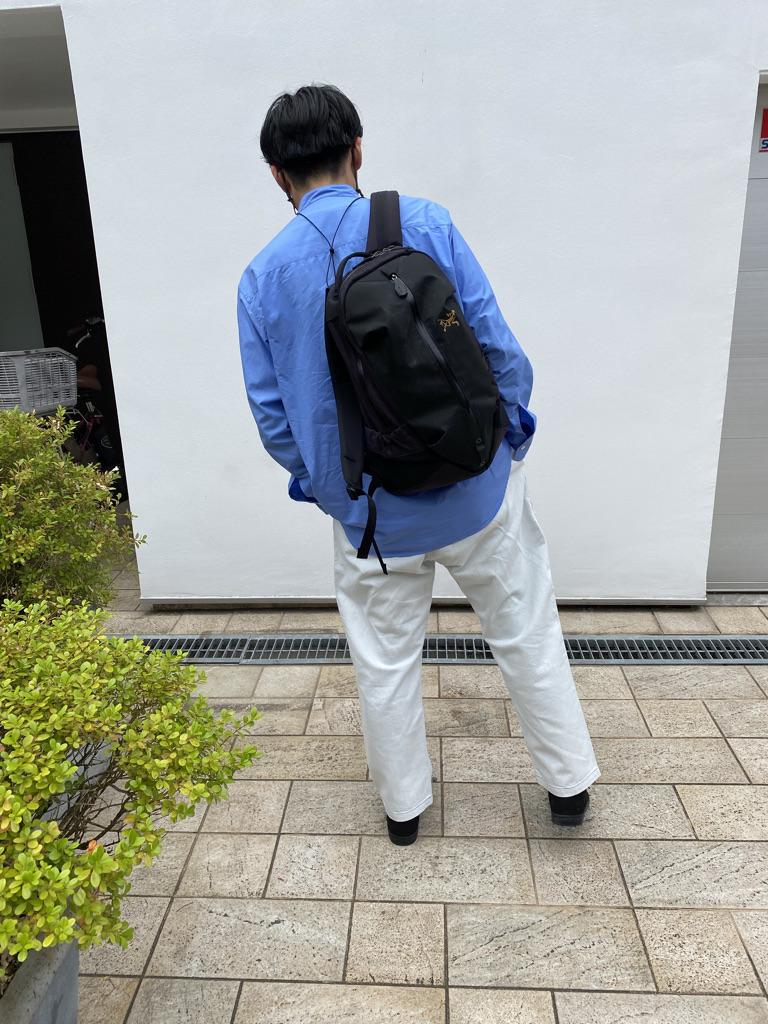 Mens 10.5oz DENIM CLIMB BAKER PANTSの着用画像2