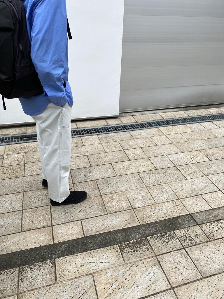 Mens 10.5oz DENIM CLIMB BAKER PANTSの着用画像1