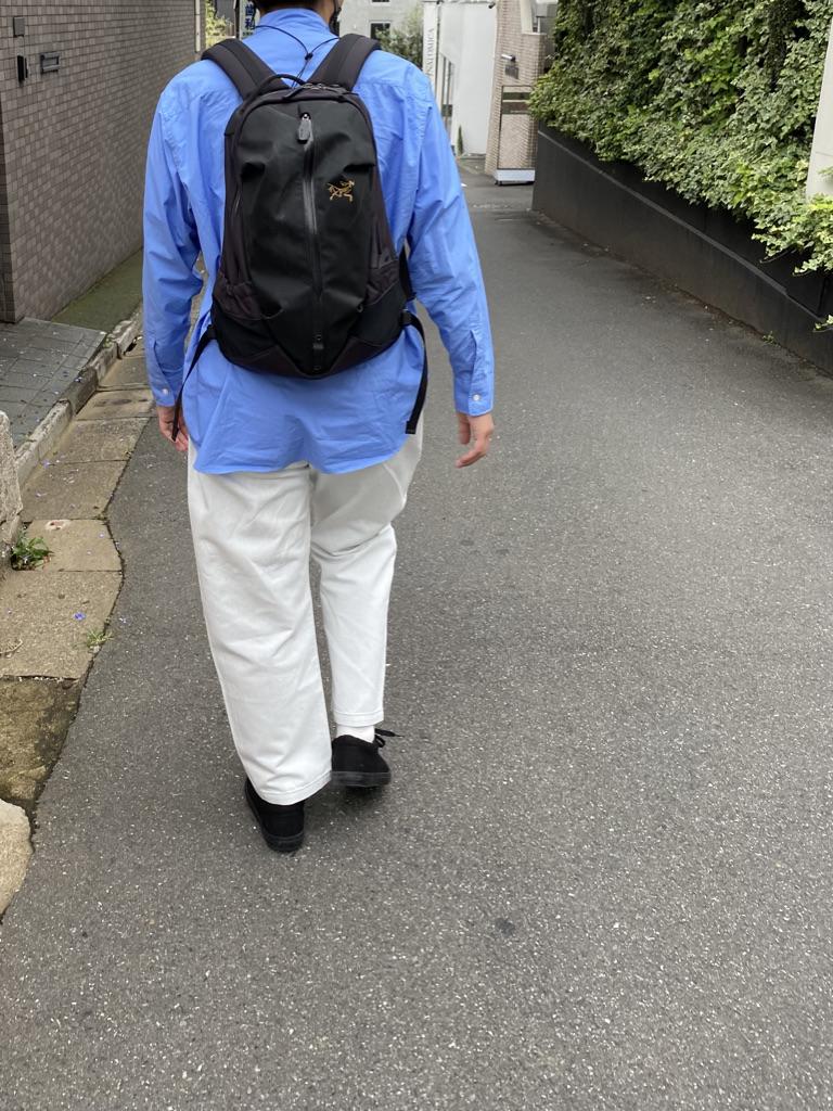 Mens 10.5oz DENIM CLIMB BAKER PANTSの着用画像3