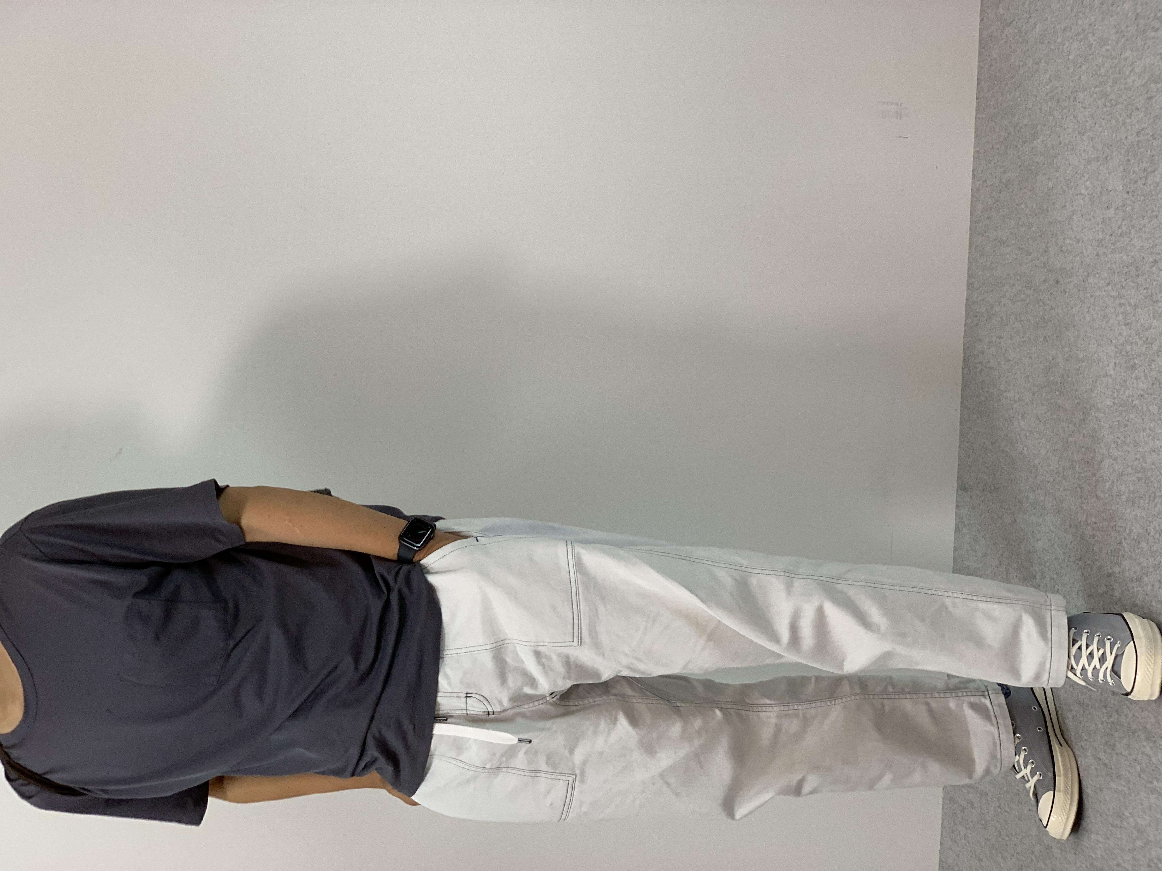 Mens 10.5oz DENIM CLIMB BAKER PANTSの着用画像6