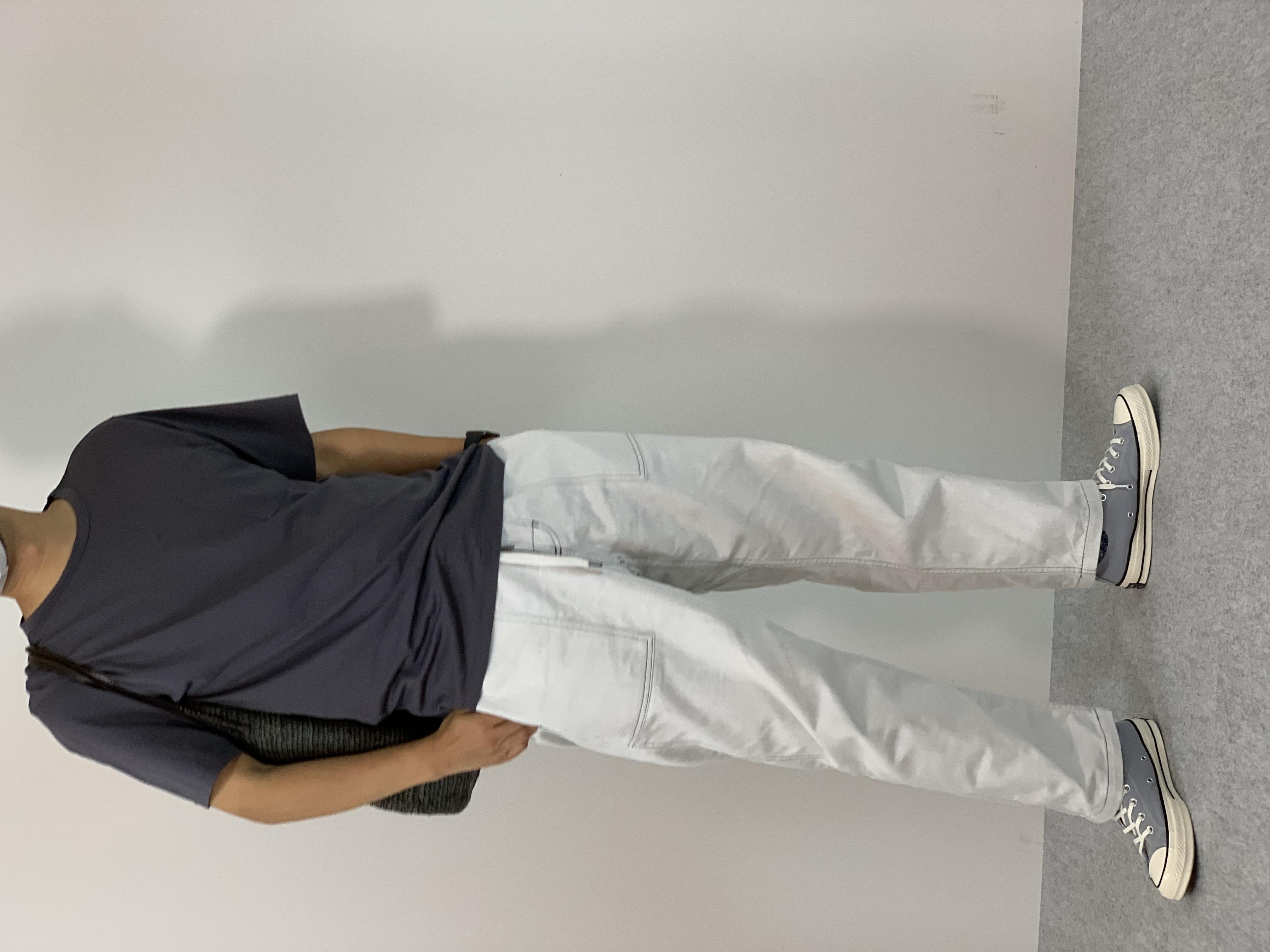 Mens 10.5oz DENIM CLIMB BAKER PANTSの着用画像7