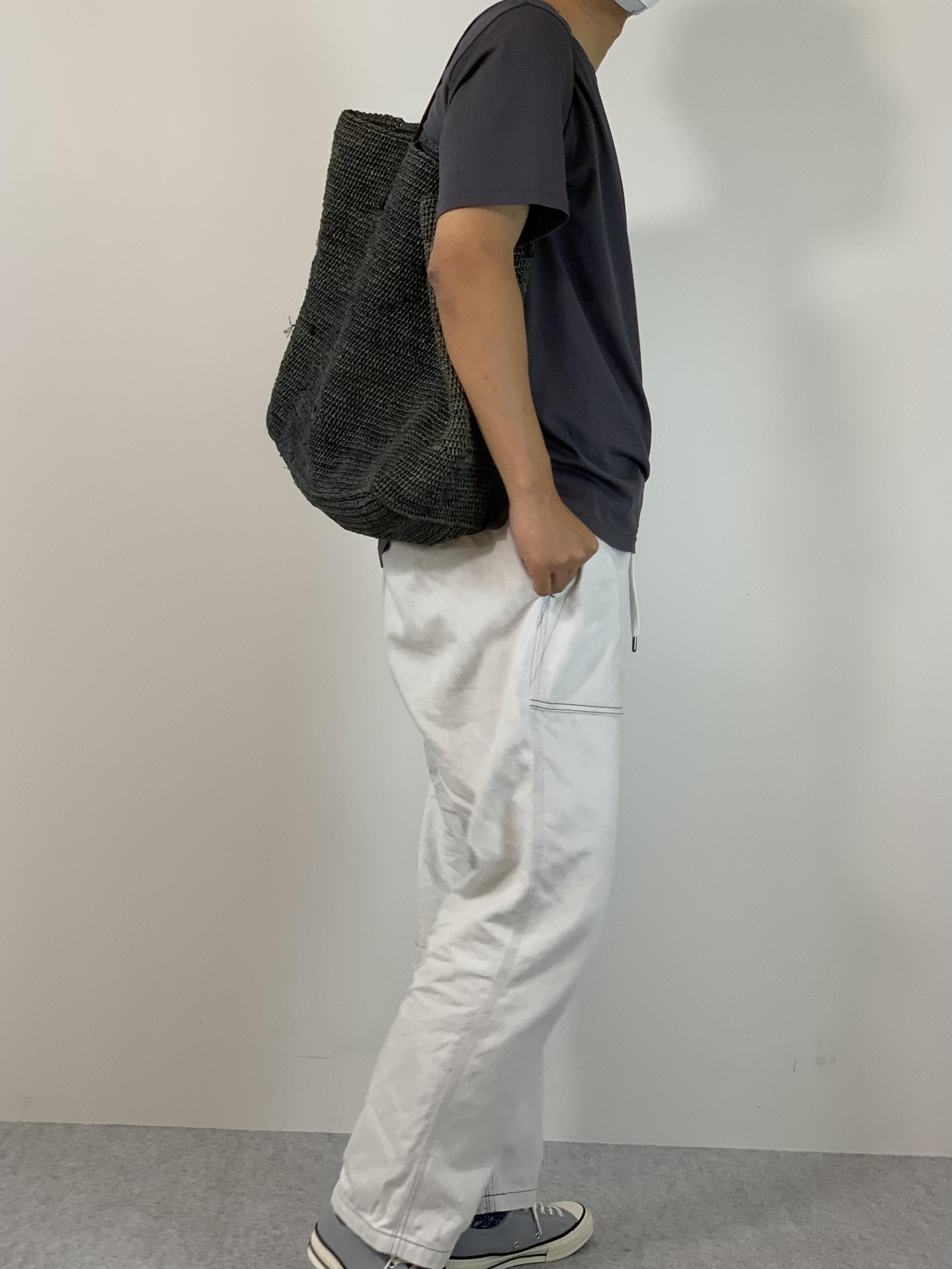 Mens 10.5oz DENIM CLIMB BAKER PANTSの着用画像8