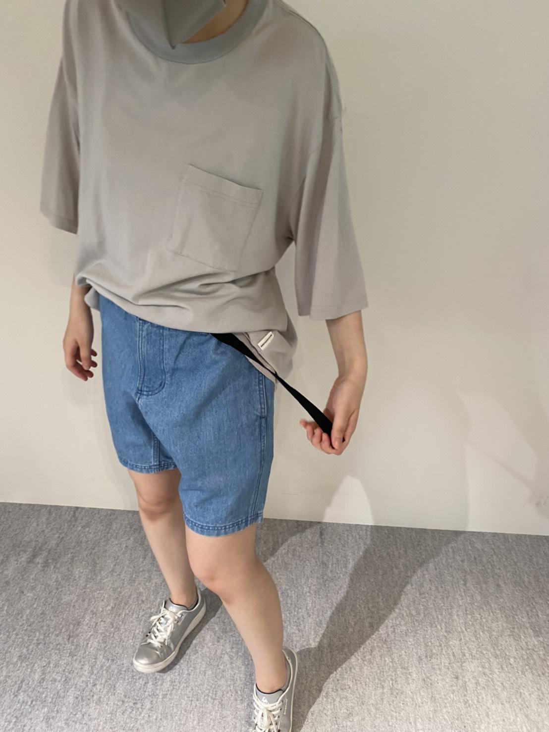 Mens 10.5oz DENIM CLIMB SHORT PANTSの着用画像7