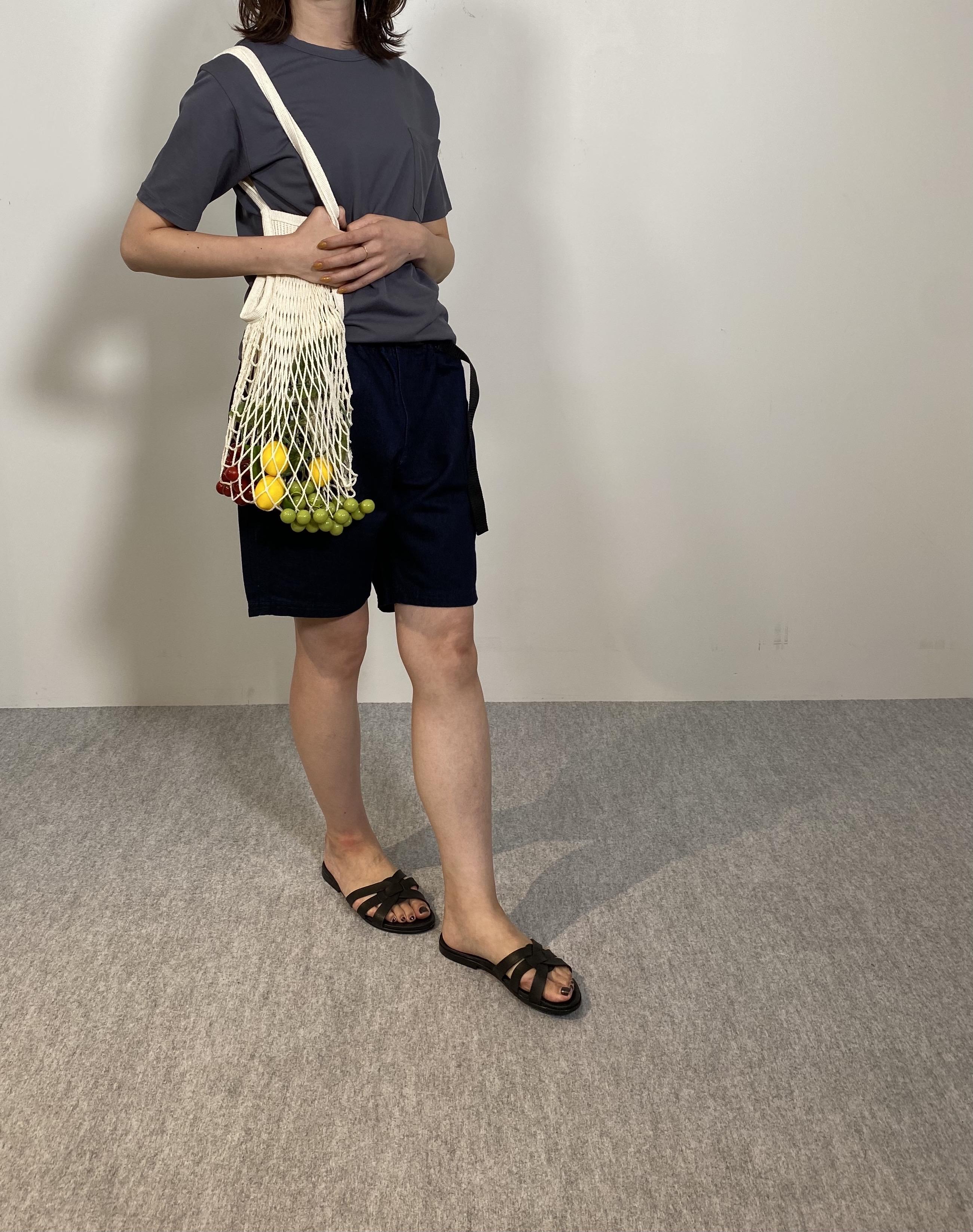 Mens 10.5oz DENIM CLIMB SHORT PANTSの着用画像10