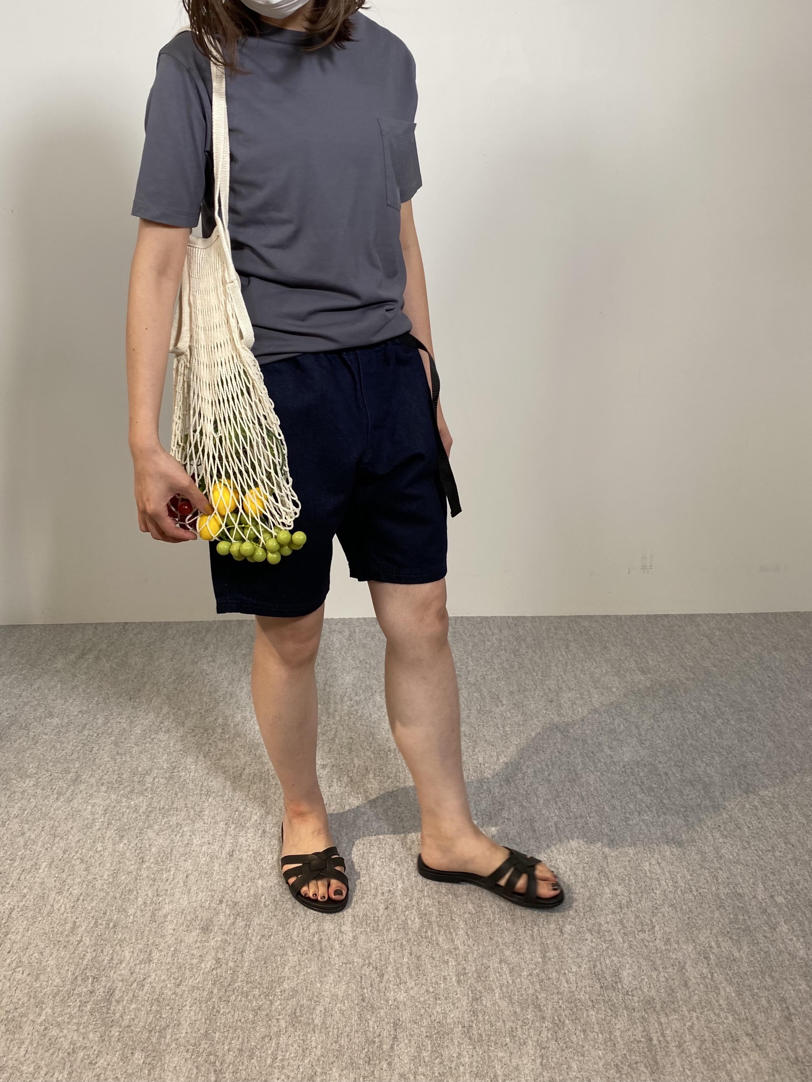 Mens 10.5oz DENIM CLIMB SHORT PANTSの着用画像11