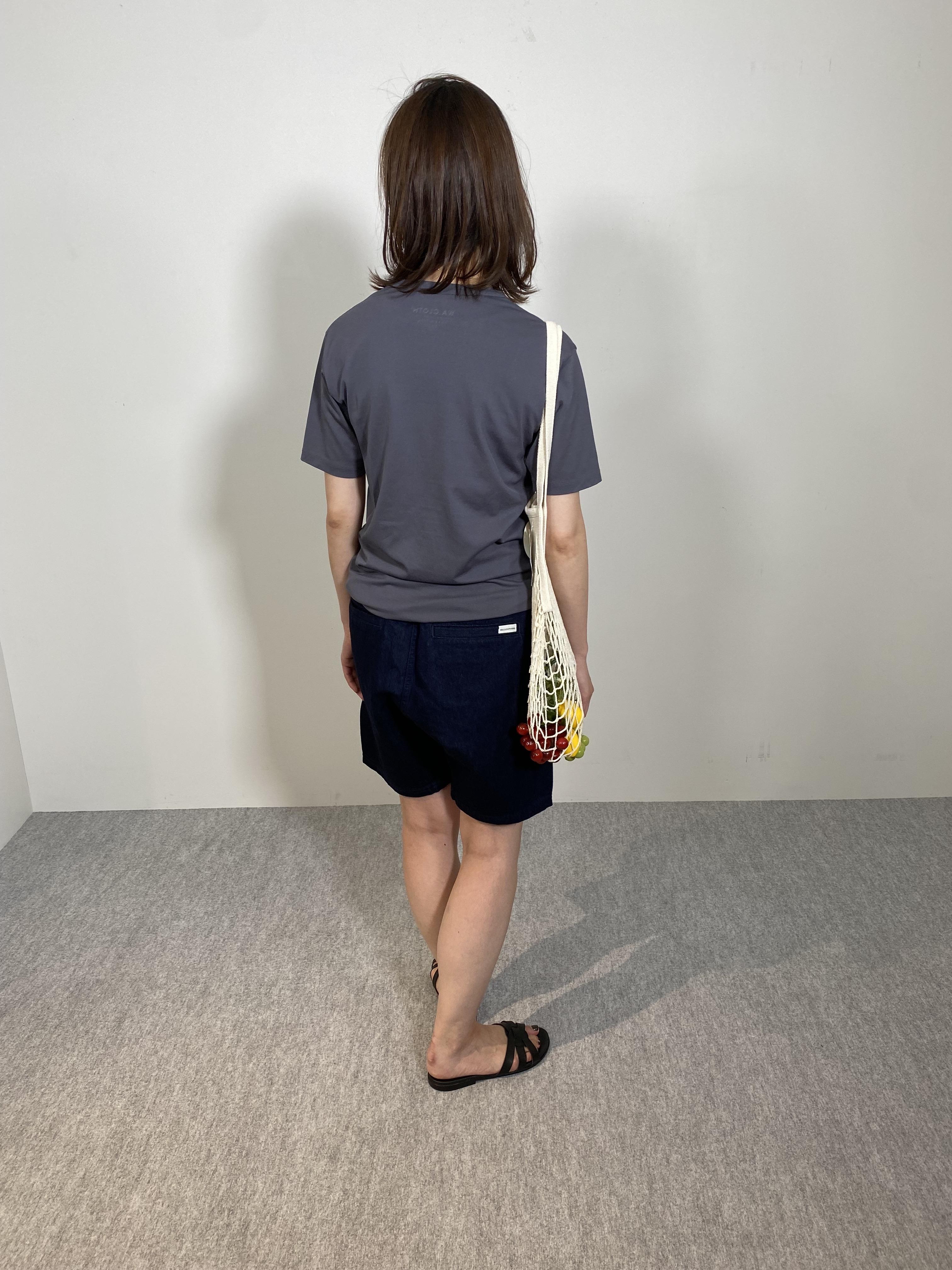Mens 10.5oz DENIM CLIMB SHORT PANTSの着用画像12