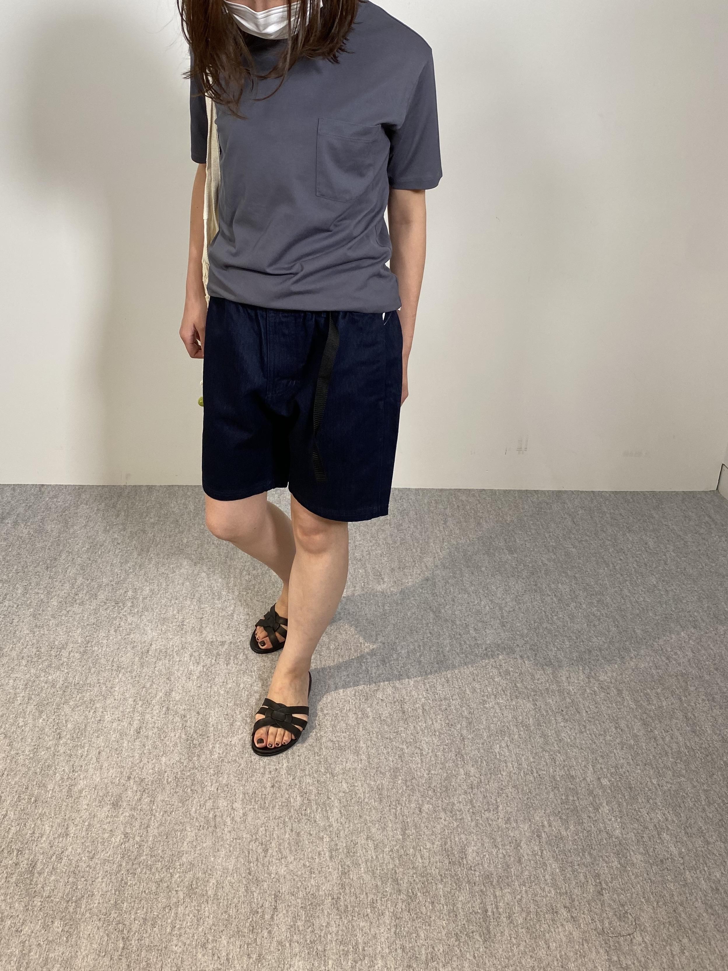 Mens 10.5oz DENIM CLIMB SHORT PANTSの着用画像13