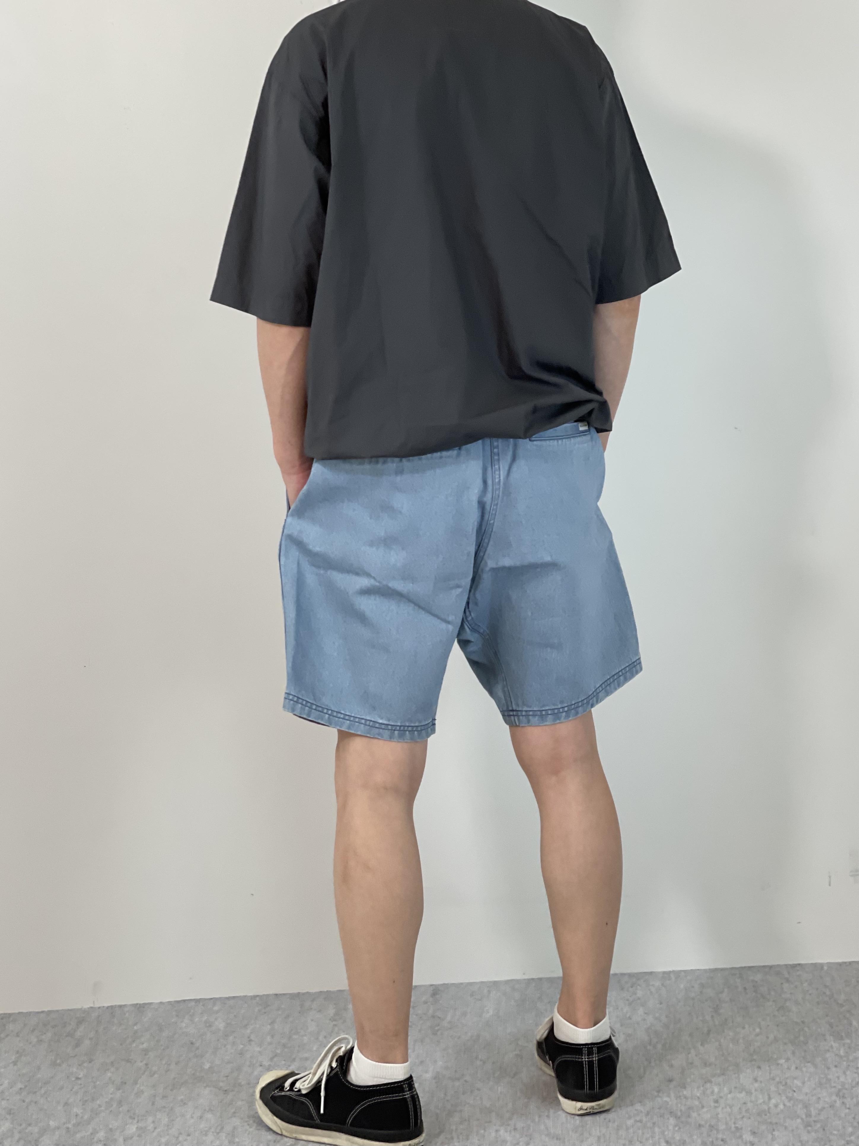 Mens 10.5oz DENIM CLIMB SHORT PANTSの着用画像2