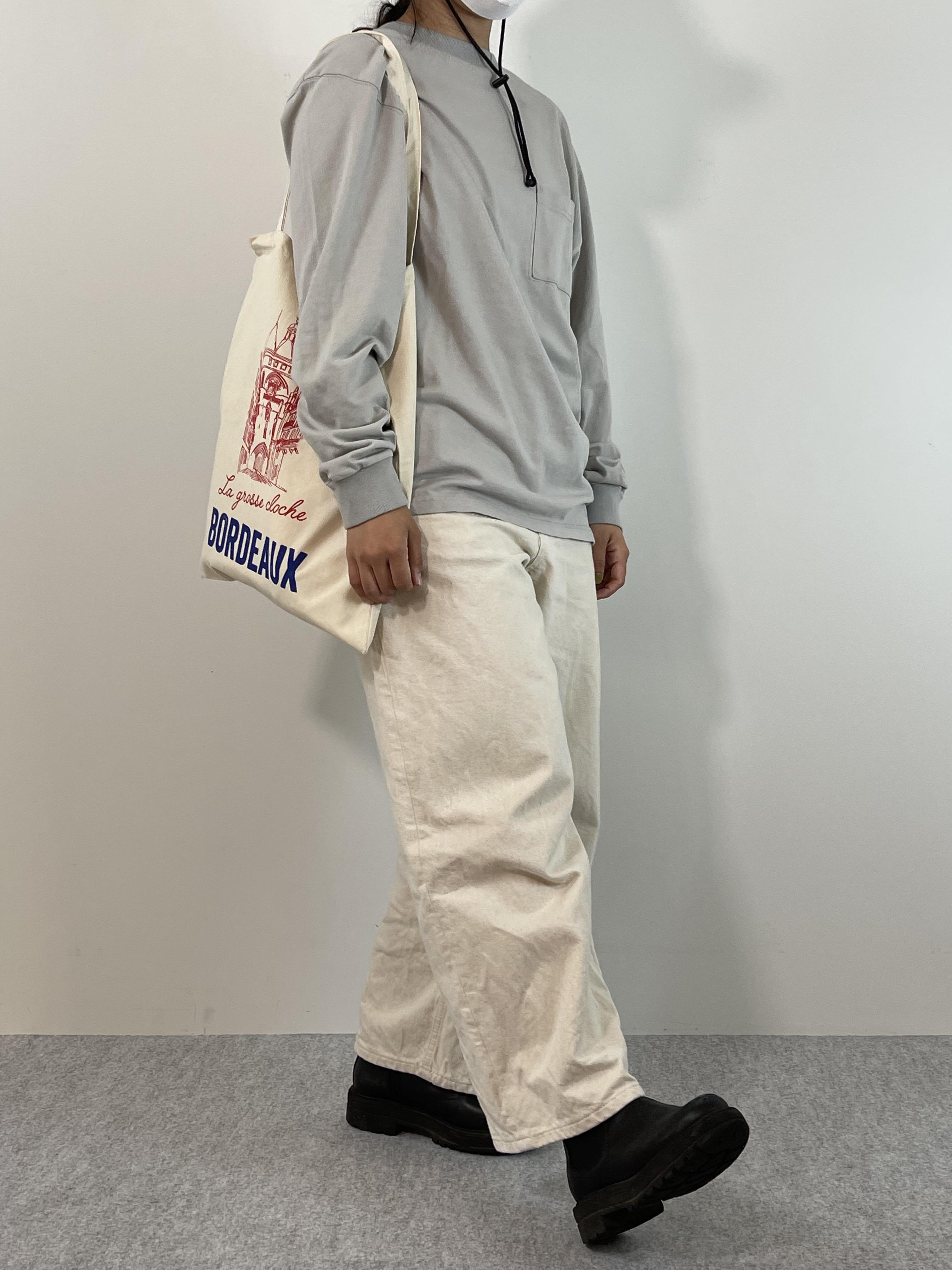 Genderless COMFORT L/S T-SHIRTの着用画像1