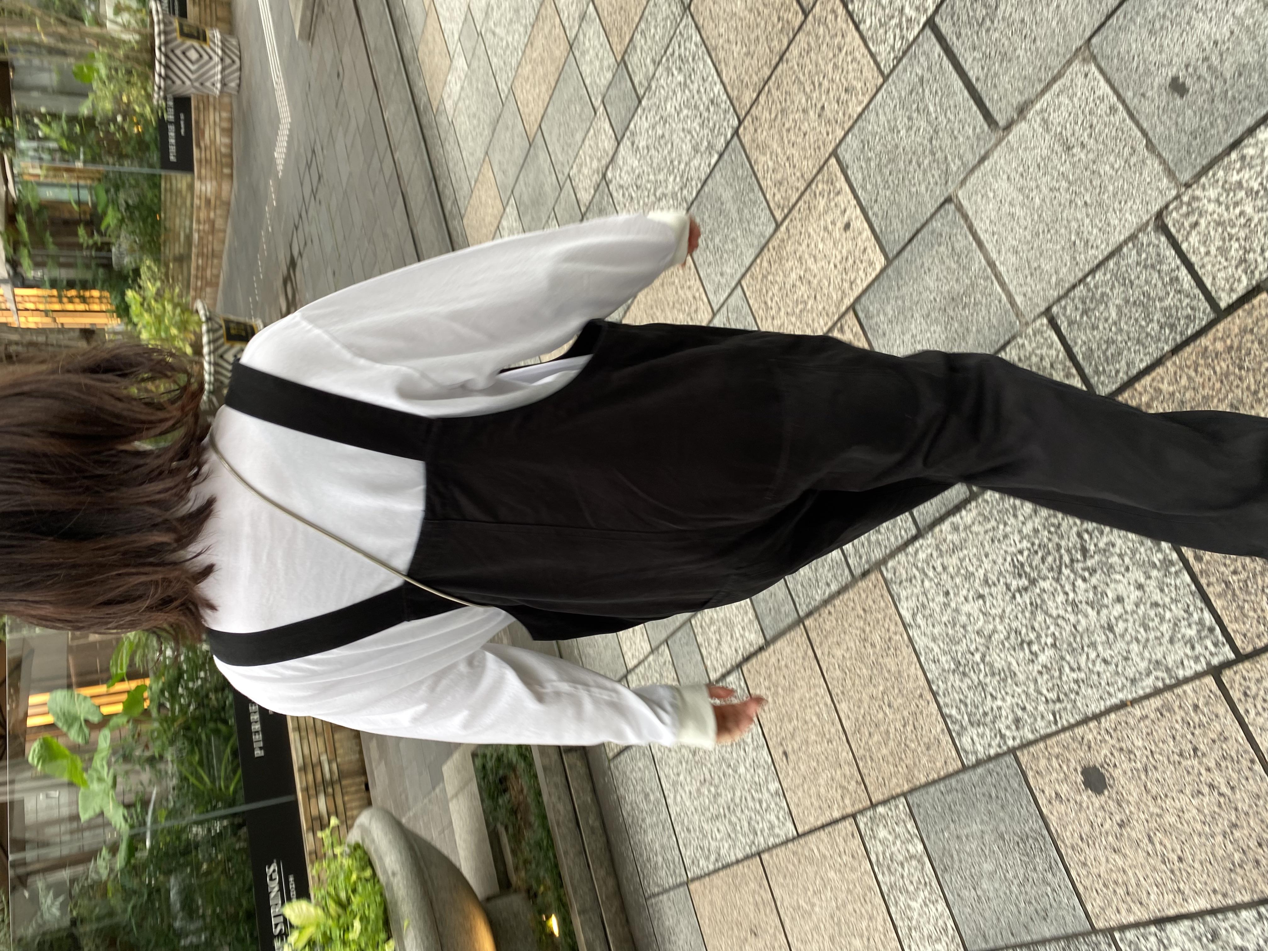 Genderless COMFORT L/S T-SHIRTの着用画像8