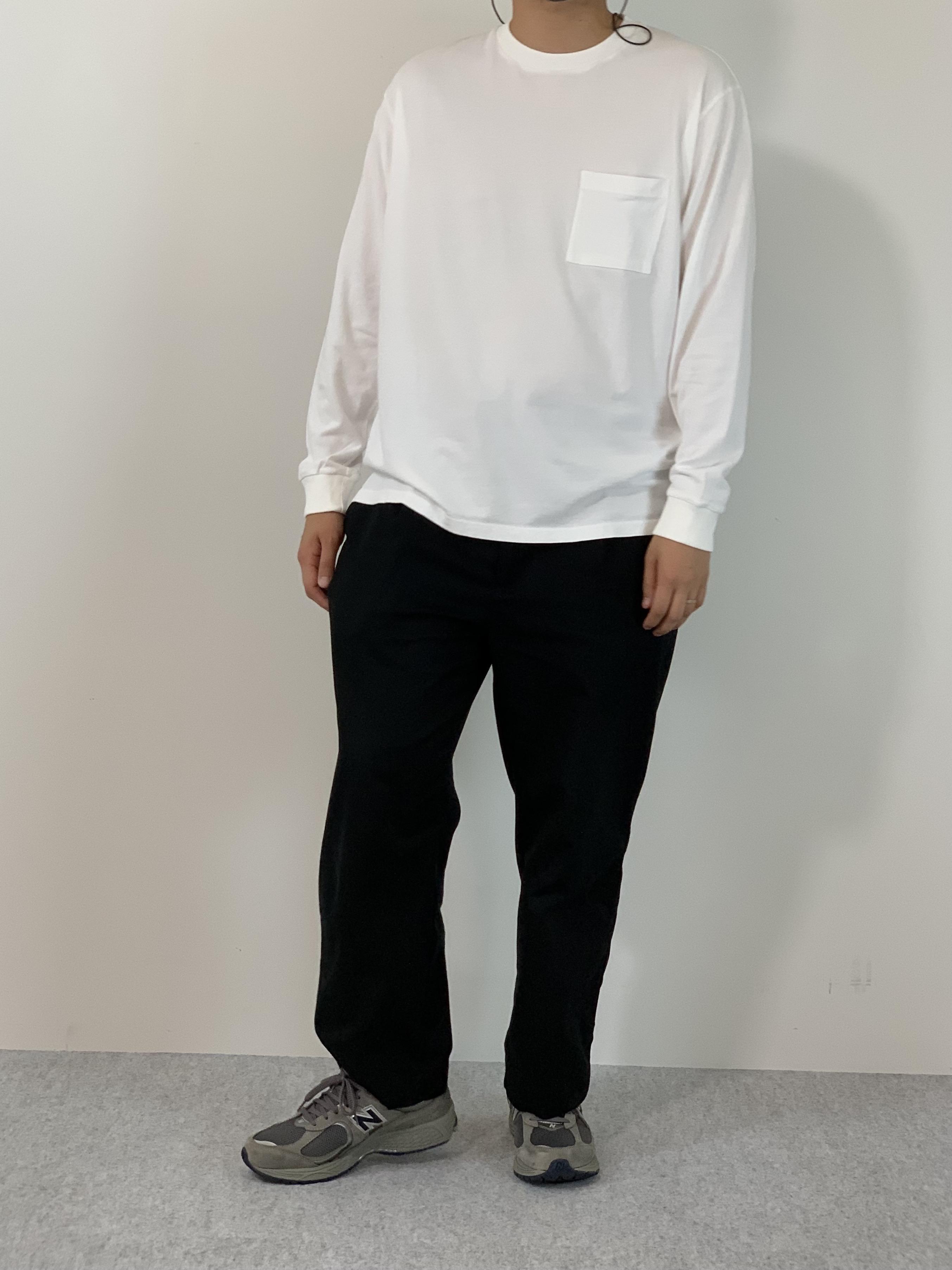 Genderless COMFORT L/S T-SHIRTの着用画像2