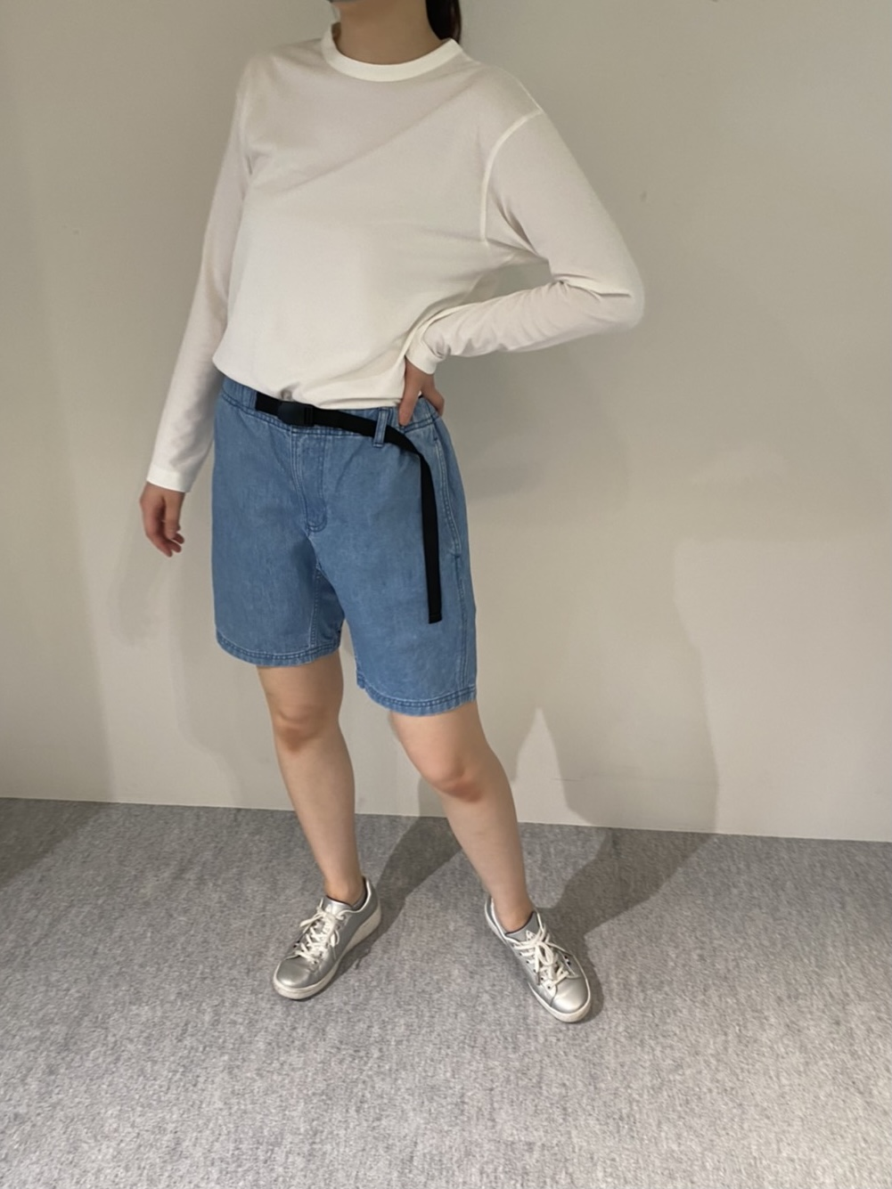 Genderless PERFECT L/S T-SHIRTの着用画像6
