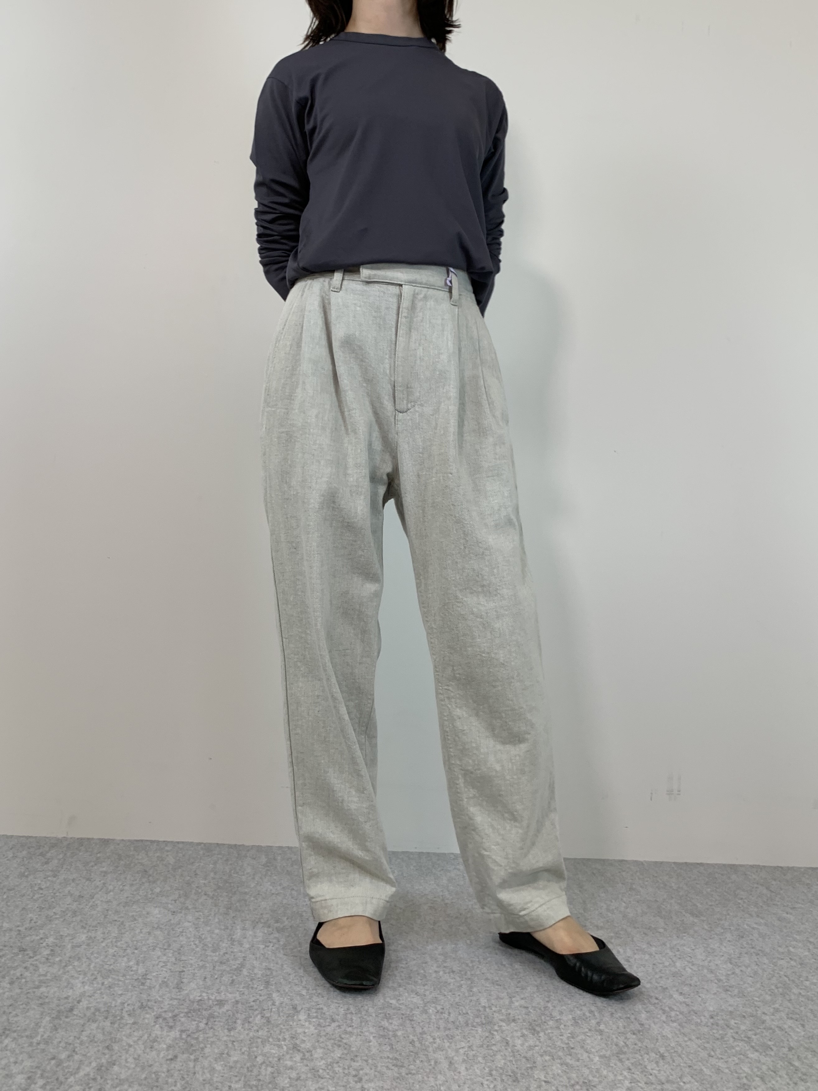Genderless PERFECT L/S T-SHIRTの着用画像3