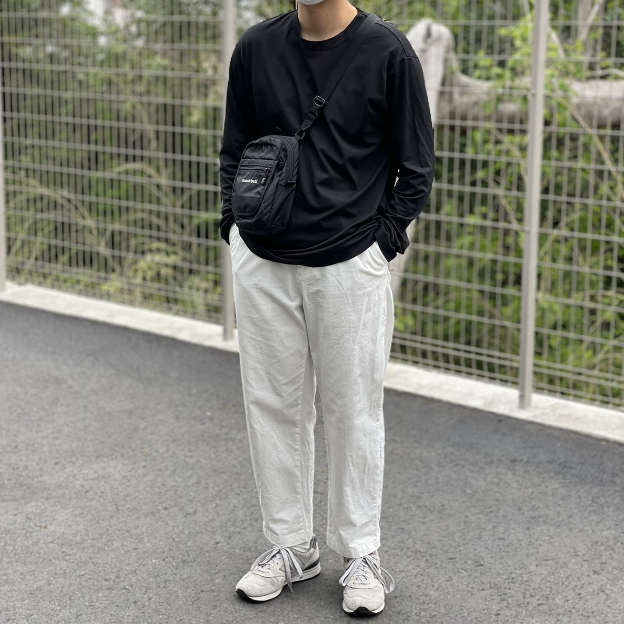 Genderless PERFECT L/S T-SHIRTの着用画像0
