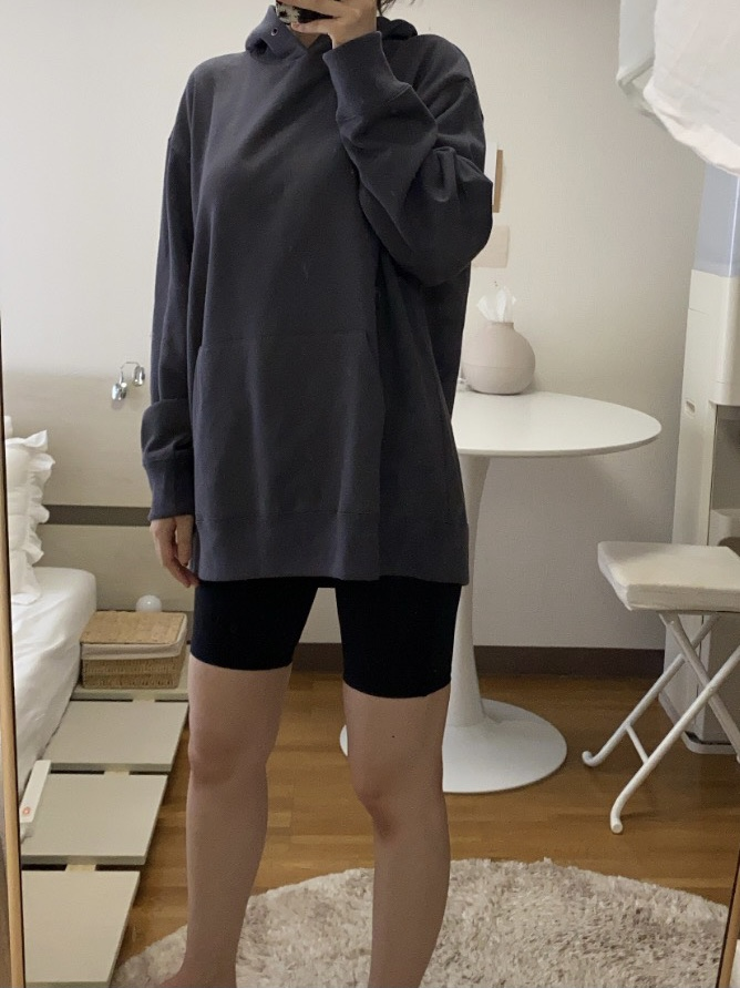 Genderless FRENCH TERRY P/O HOODYの着用画像0