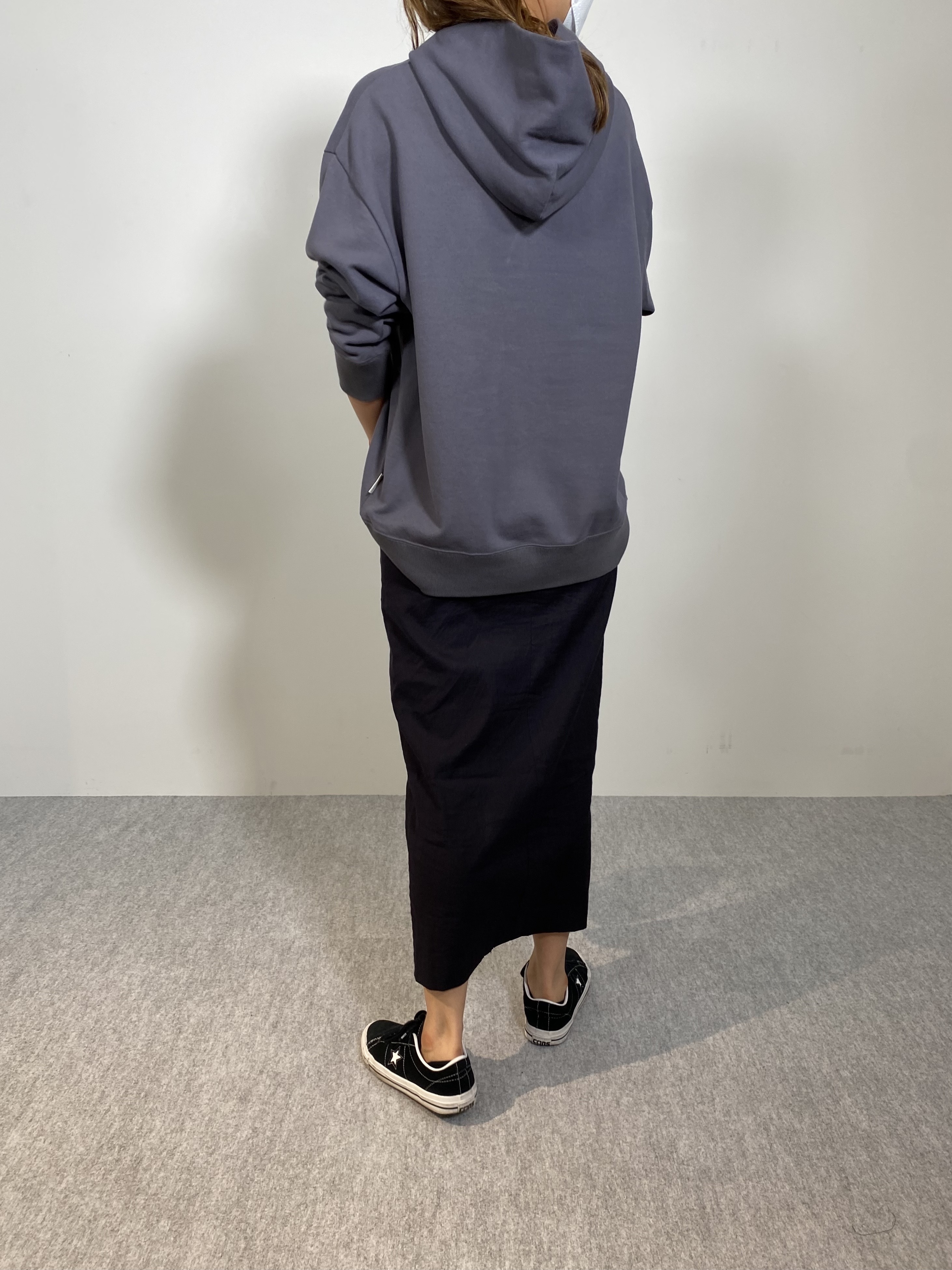 Genderless FRENCH TERRY P/O HOODYの着用画像6